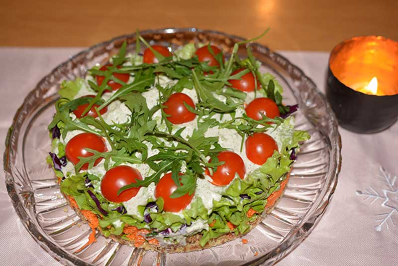 Salat-Torte