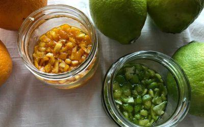 Zitronat und Orangeat
