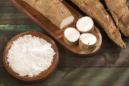Cassava-Mehl